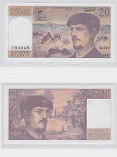 GERTBROLEN  20 FRANCS ( DEBUSSY ) de 1989  B.024 Billet N°  0576193348