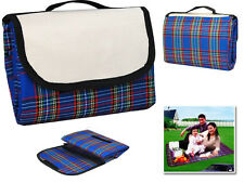 150 x 115 FOLDABLE PICNIC RUG TRAVEL OUTDOOR PETS CAMPING WATERPROOF BLANKET SUN