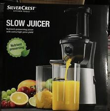 Slow Juicer Silvercrest Test : Silvercrest Juicers & Presses eBay