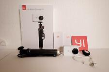 Xiaomi yi 4k Action Camera Pearl White + selfie Stick + accesorios paquete OVP