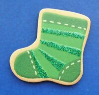 Hallmark MAGNET Christmas Vintage COUNTDOWN to STOCKING Green Holiday Fridge