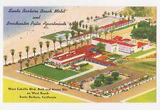 Santa Barbara,CA.Santa Barbara Beach Motel & Breakwater Patio Apartments.c.1940s