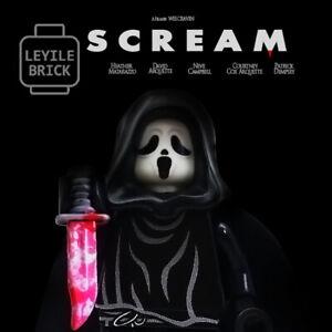 LEYILE BRICK - Custom Scream Lego Minifigure.