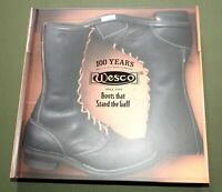 """""""WESCO 100 YEARS"""" VTG LEATHER LOGGER ENGINEER MOTORCYCLE BOOTS REFERENCE BOOK"""