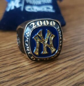 2000 NEW YORK YANKEES 26th World Champs REPLICA RING