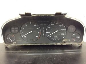 92-94 Acura Vigor 4DR AT Instrument Cluster Speedo Tacho Meter Gauges 180k OEM