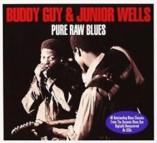 JUNIOR WELLS & BUDDY GUY Pure Raw Blues SEALED 2 CD SET 40 SONGS 1950's-70's