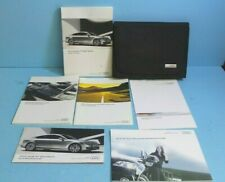 12 2012 Audi A7 Sportback owners manual with Navigation