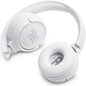 JBL Tune 500 BT Auriculares Supraaurales Inalámbricos Blancos diadema cascos