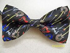 Electric Guitar, guitarist, axe, Rock, Country, Band, pre-tied men's bow tie #2