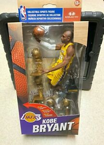Mcfarlane NBA 27 Kobe Bryant Championship Trophy Action Figure Limited to 6000