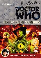 More details for doctor who - the brain of morbius dvd - signed by 6 cast & crew (tom baker)