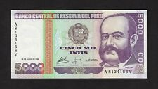 F.C. PERU , 5000 INTIS 1988 , S/C ( UNC ) , P.137 .