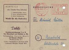 BRD AFS  Brief : Münster 11.04.1949