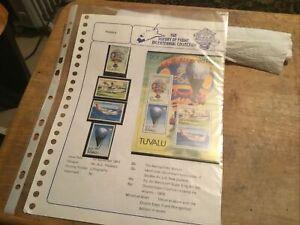 Tuvalu Unmounted Mint Stamp Sets