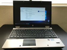 HP Elitebook 8440P Intel Core i7 2.67Ghz 250HDD Windows 10 Pro