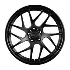 "20"" Vertini RF1.4 Forjado Negro Cóncavo Ruedas Llantas para Nissan 370Z"