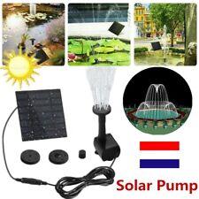 Pompe à Eau Solaire Fontaine Panneau Jardin Pump Arrosage Energie Solaire jardin