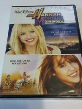Disney Hannah Montana The Movie DVD 2009 W/ Magic Code Movie Rewards NEW SEALED