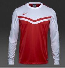 Nike Boys Victory II Long Sleeve Football Top Red/White (M) 10-12 Years