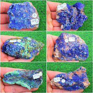 NEW Large Azurite Malachite Crystal Mineral Raw Chrysocolla Pick From 17 UK BUY✔