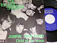 "7"" - Rolling Stones Jumpin Jack Flash & Child of the Moon - Belgium # 4572"