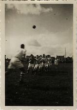 PHOTO ANCIENNE - VINTAGE SNAPSHOT - SPORT RUGBY ÉQUIPE MATCH - TEAM 1934