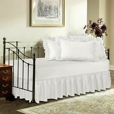 Daybed Split Corner Ruffle Bed Skirt Solid 650 Tc Cotton Twin Twin Xl Full