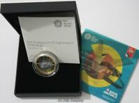 2018 RAF F 35 Lightning £2 Two Pound Silver Proof Royal Mint Coin
