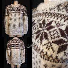 "DALE of NORWAY Wool Jumper Ladies M-L *GREAT COND* Vintage Pit-Pit 19"""