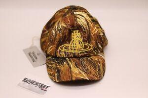 Vivienne Westwood x Andrea Kronthaler Hat | Hair Print | Gold | 100% Authentic