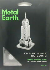 Fascinations Metal Earth EMPIRE STATE Building NY 3D Laser Cut Steel Model Kit