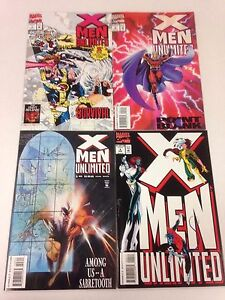 X Men Unlimited #1 2 3 4 5 6 7 8 9 10 11 12 13 14 15 16 17 18 19 20 21 22
