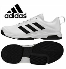 NIB Adidas Men's Game Spec Athletic Tennis Shoes Black/White Various Size