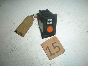 Toyota Pickup Truck 4Runner DECK LAMP SWITCH 84 85 86 87 88 BOX BED LIGHT 1988