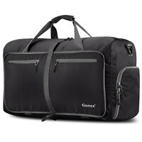 Gonex 80L Travel Duffle Bag Foldable Tear Resistant Carry-On Luggage Bag Storage
