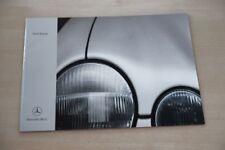 185910) Mercedes E-Klasse W210 Prospekt 05/1999
