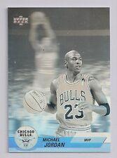 1992-93 UPPERDECK #AW9 MICHAEL JORDAN HOLOGRAM MVP CHICAGO BULLS