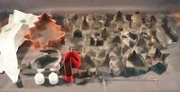 Lot of 25 Cookie Cutter & Cake Decorating Accessories