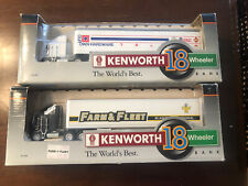 Lot of (2) SpecCast Kenworth Farm & Fleet Our Own Hardware Semi 1/64 Scale NEW
