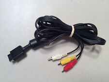 Official Sony RCA AV Audio video Cable For PlayStation PS1 PS2 PS3 OEM