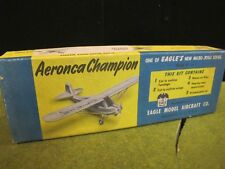 Vintage Eagle Model Aircraft Co. AERONCA Wood Model Kit inc Box + Plans