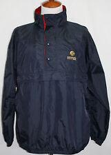 Embroidered CORONADO PAINT Pullover Wind Jacket Black XL Harvard Square