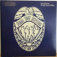 """FEMALE  BODY  INSPECTORS   12""""    SINGLE ,  THE GIRL PULLED  A  DOG   ( PROMO )"""
