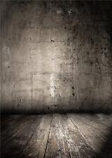 Photo Backdrops Wooden Floor Vinyl Studio Kids Photography Background 5x7FT QX42
