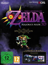 The Legend of Zelda: Majora's Mask 3D -Special Edition Ohne Spiel/Without Game!!