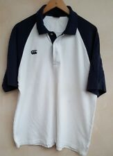 Mens Polo Shirt Navy & White  UKL By Canterbury of New Zealand<MP834