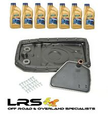 RANGE ROVER L322 ZF AUTO GEARBOX FILTER METAL SUMP AND OIL KIT BP DA2142RR