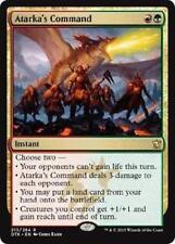 Atarka's Command LP Dragons of Tarkir MTG Magic Cards Gold Rare