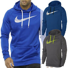 Nike Swoosh Name Fill Big Tall Therma-Fit Training Pullover Sweatshirt Hoodie